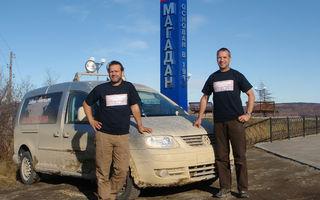 Un VW Caddy a parcurs 15.497 km fara oprire in 8 zile si 13 ore