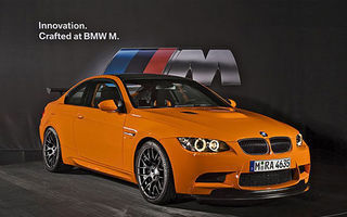 OFICIAL: GTS, cel mai puternic M3 produs de BMW