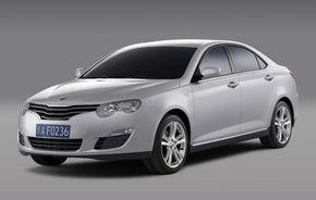 Chinezii pregatesc versiunea hibrida a lui Roewe 550