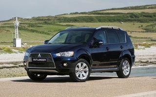 OFICIAL: Noul Mitsubishi Outlander facelift