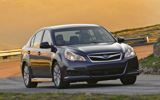 Subaru Legacy a primit ranforsari speciale pentru America