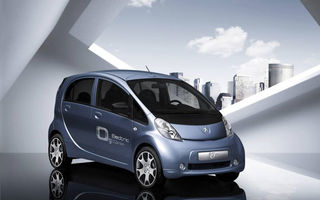 Clientii Peugeot se pot inscrie pe lista de comenzi a modelului iOn