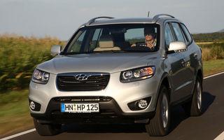 Hyundai a vandut doua milioane de Santa Fe