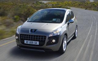 Intreaga productie de Peugeot 3008 pe 2009 a fost comandata deja