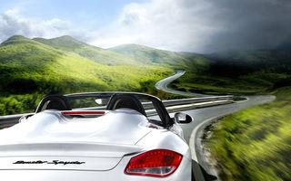 GALERIE FOTO: Noi imagini artistice cu Porsche Boxster Spyder