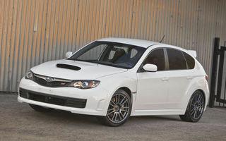 Subaru lanseaza Impreza WRX STI Special Edition