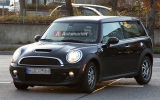 EXCLUSIV: Mini testeaza versiunile diesel ale lui Cooper S si Clubman S