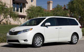 Toyota a lansat cea de-a treia generatie a lui Sienna