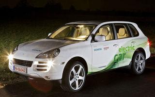 RUF a lansat un Porsche Cayenne electric de 367 cai putere
