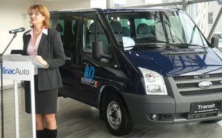 Ford a donat o masina Federatiei Romane de Canotaj