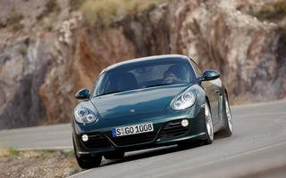 Porsche pregateste o versiune mai usoara a lui Cayman