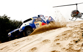 Urmareste Raliul Dakar 2010 pe iPhone si iPod Touch!