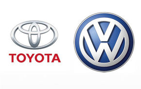 Toyota nu va mai vinde modele Volkswagen in Japonia din 2010