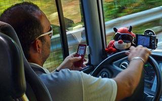 SMS-ul la volan poate fi mai periculos decat alcoolul