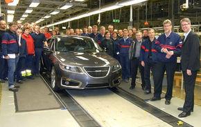 Productia lui Saab 9-5 va fi repornita in ianuarie 2010