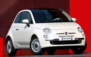 Noul Fiat 500 electric va avea o autonomie de 240 de kilometri