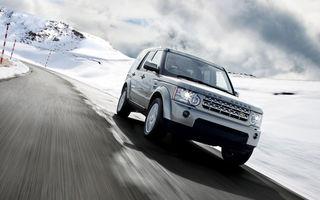 Land Rover sfideaza criza la sfarsitul lui 2009