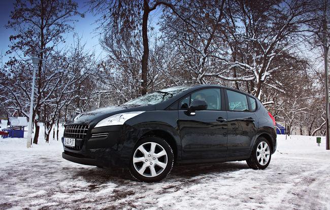 Test drive Peugeot 3008 (2009)