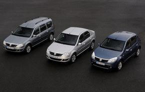 Dacia a exportat peste 200.000 de unitati in 2009