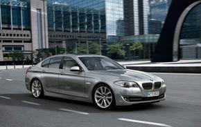 BMW Seria 5 ActiveHybrid se lanseaza la Geneva