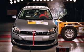 VW Golf este cea mai sigura masina testata de EuroNCAP in 2009