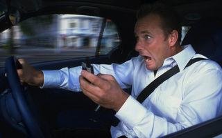 STUDIU: Interdictia telefoanelor mobile la volan nu reduce numarul de accidente