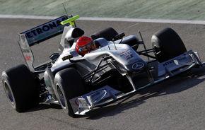 GALERIE FOTO: Schumacher a debutat la Mercedes GP