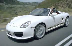 VIDEO: Clipul de prezentare al lui Porsche Boxster Spyder