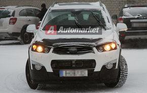 FOTO EXCLUSIV*: GM testeaza noile Antara si Captiva