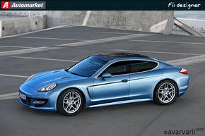 FII DESIGNER: Am redesenat Porsche Panamera asa cum l-ati vrut!