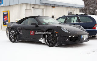 FOTO EXCLUSIV*: Porsche testeaza noul 911 Cabrio