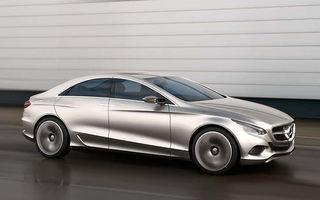 OFICIAL: Noul Mercedes CLS, anuntat de conceptul F800 Style