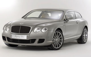 Bentley a prezentat conceptul Continental Flying Star la Geneva
