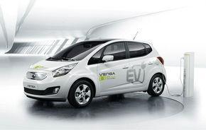 Kia a prezentat primul sau model electric la Geneva: Venga EV Concept