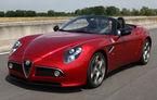 Alfa Romeo 8C Spider va putea fi admirat si in Romania