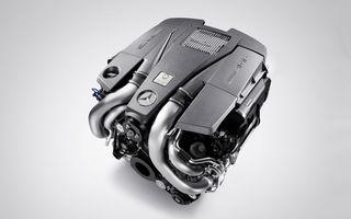 Mercedes a dezvaluit detaliile complete ale motorului V8 biturbo de 5.5 litri