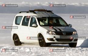 PREMIERA FOTO: Dacia testeaza viitorul sau monovolum