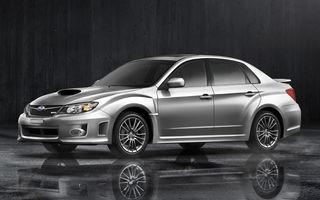 Subaru a dezvaluit un Impreza WRX cu un kit de caroserie special