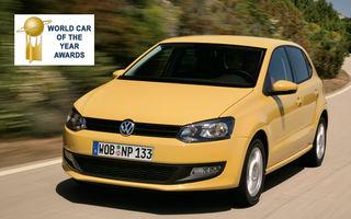 OFICIAL: Volkswagen Polo este Masina Anului 2010 in lume