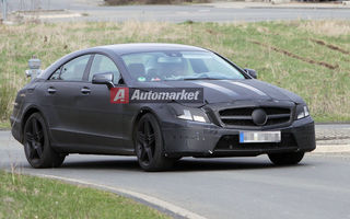 Foto EXCLUSIV*: Mercedes testeaza noul CLS in versiunea AMG
