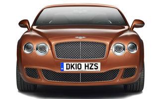 Bentley lanseaza doua versiuni speciale ale lui Continental pentru piata chineza
