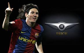 Lionel Messi este imaginea chinezilor de la Chery in Europa