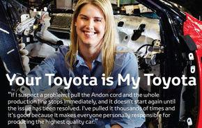 Toyota apeleaza la muncitorii sai pentru a-si sterge imaginea dupa recall