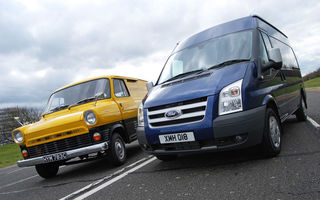 VIDEO: Ford Transit sarbatoreste 45 de ani si 6.000.000 de exemplare