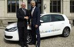 Primul VW Golf electric: blue-e-motion