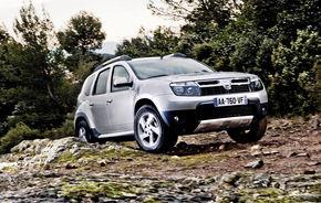 Dacia Duster: 500 de comenzi pe zi in Franta