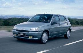 Renault Clio sărbătoreşte 20 de ani de la naştere