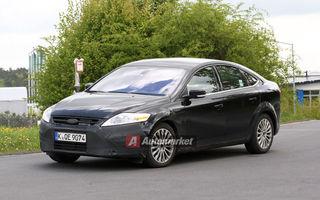 FOTO EXCLUSIV* : Primele imagini cu Ford Mondeo facelift