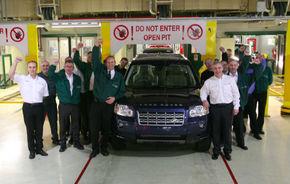 Land Rover a produs 200.000 de exemplare Freelander 2