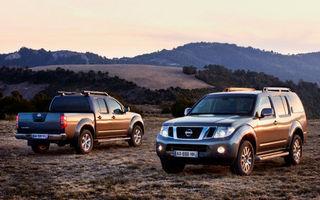 Nissan a anunţat preţurile lui Navara şi Pathfinder facelift în România
